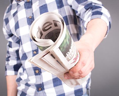 Distribuer des journaux